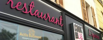 Renovation restaurant
