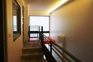 Peinture cage d'escalier